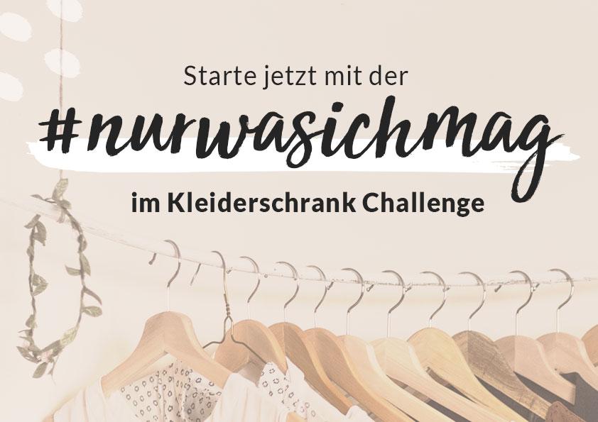 Sissi Kandziora, nurwasichmag im Kleiderschrank Challenge PDF download